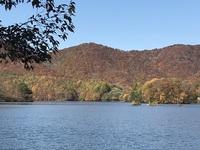 裏磐梯・曽原湖、レンゲ沼の紅葉