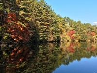 裏磐梯・檜原湖、五色沼の紅葉