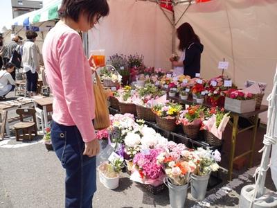 10/12わくわくフェスティバル♪フラワー&グリーンPetit Fleurさん♪