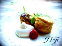菓子工房JI-jiのスコーンをクローテッドクリームで