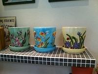 可愛らしい鉢たち