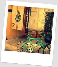 自転車でお出かけ♪