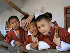 しあわせの国、ブータン。