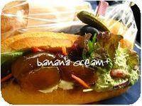 サンドイッチ@名もないカフェ