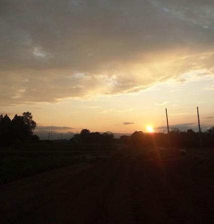 夕空。。。