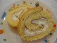 ロールケーキを作ってみました