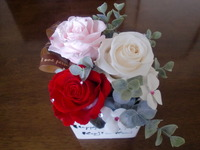 キラキラお花