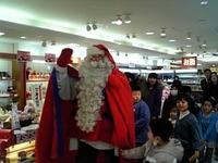 サンタクロースin福島空港♪