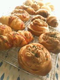 小型パン熱過熱中