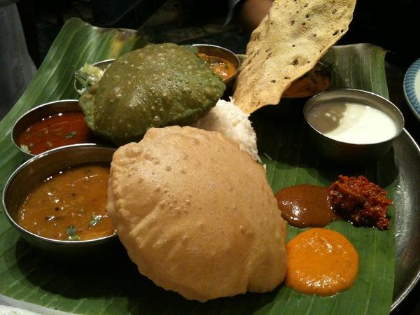 ダバ・インディアでインド気分