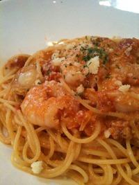 トマトクリームスパゲッティー