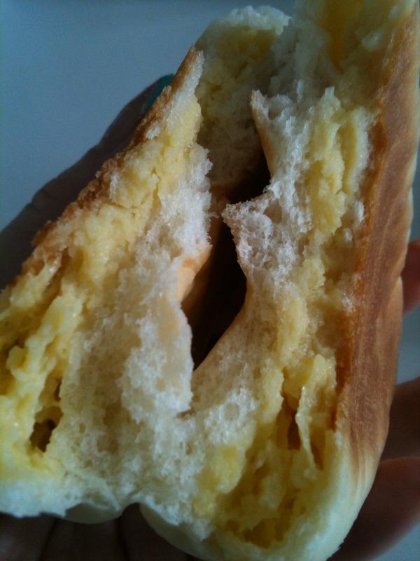 クリームパンを作ってみたり