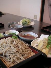 須賀川でお蕎麦を食べてきましたよ