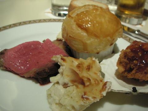 ホテルグランドパレスでディナーブッフェを食べてきた(九段下)