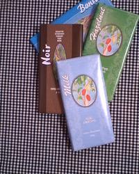 第三世界ショップ「地球食」のチョコレート