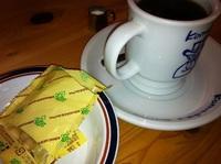 コーヒーおいしい。ちょっと一休み