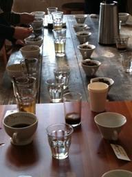 コーヒーレクチャー ATOM COFFEE ROASTER