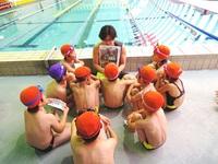 安全水泳教室