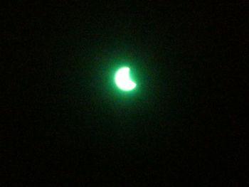 日食、見たよ!!