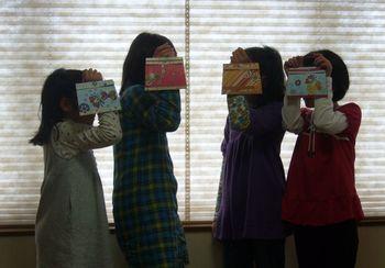 小学生4人組への講習♪