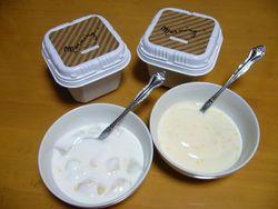 朝食には・・・