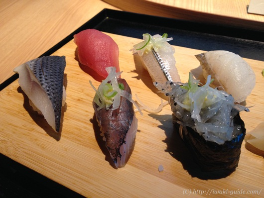 クアマリンふくしま 寿司屋