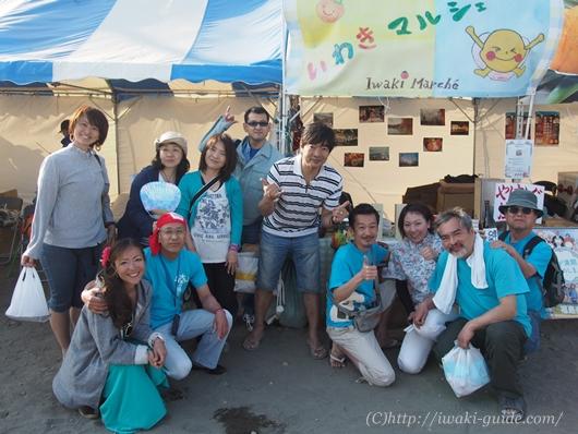 湘南茅ヶ崎災害ボランティア いわきマルシェ 湘南祭