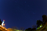 いわき、冬の星空〜ふたご座流星群@三崎公園