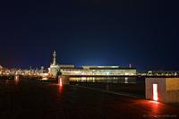 冬の夜のお散歩@アクアマリンパーク