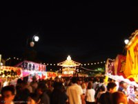 日本一の回転櫓!第61回いわき回転やぐら盆踊り大会