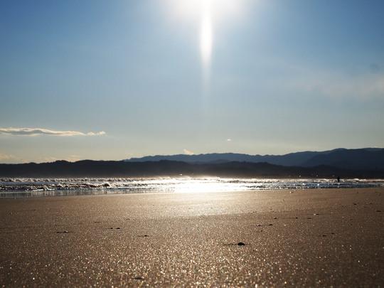 勿来海岸(菊多浦)の景色