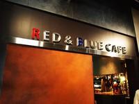 極上パンケーキのエッグベネディクトでサッカー観戦/RED&BLUE CAFE