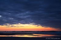 夜明けの風景@神白海岸