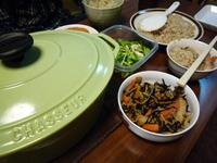 一家団欒で夕食♪♪♪