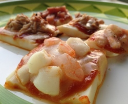 かまぼこピザ 蒲鉾レシピ トマトレシピ