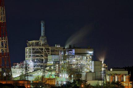 いわき工場夜景 IGCC10号機