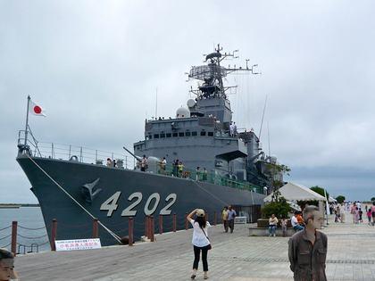 海上自衛隊 一般公開 いわき小名浜