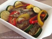 メヒカリの唐揚げと夏野菜のニンニク南蛮漬け たれレシピ