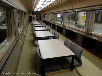 485系お座敷列車 いわき上野