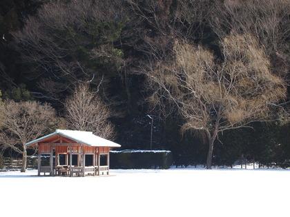雪の白水阿弥陀堂 いわき観光おすすめ