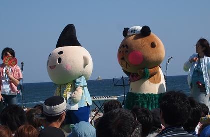 茅ヶ崎湘南祭 いわきフラおじさん