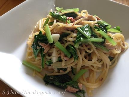 福島いわき食材レシピ 大根の葉レシピ