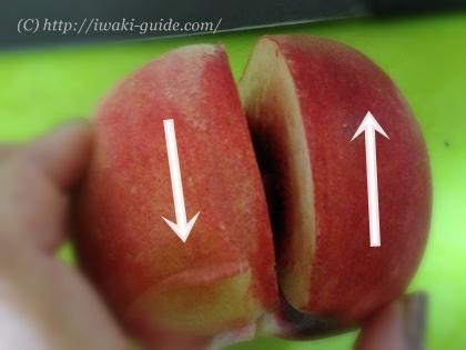 桃の切り方・桃の栄養・桃のカロリー