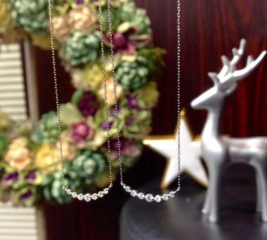 ダイヤモンドネックレス オススメ クリスマス