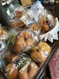 MAPLEさんのドーナツ入荷しました♪