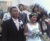 石垣島の結婚式。