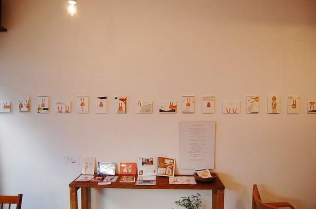芋ハンコ年賀展示の写真1