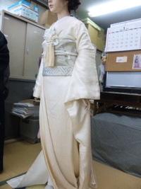 花嫁衣装で変身~♪