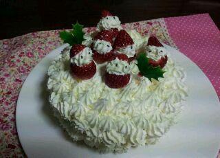 ケーキ作りましたァ~^^
