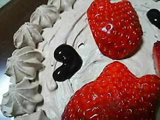 バレンタインケーキ^^